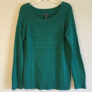 Ralph Lauren Sweater Oversized Cable Slouchy Knit